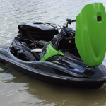 Reprogrammation du calculateur de moteur de Jet Ski à Bordeaux.